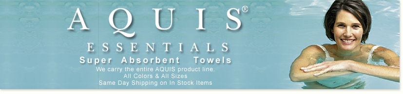 Aquis Super Absorbent Towels